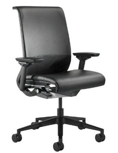 UPC 155010031473, Steelcase Think Leather Chair, Black
