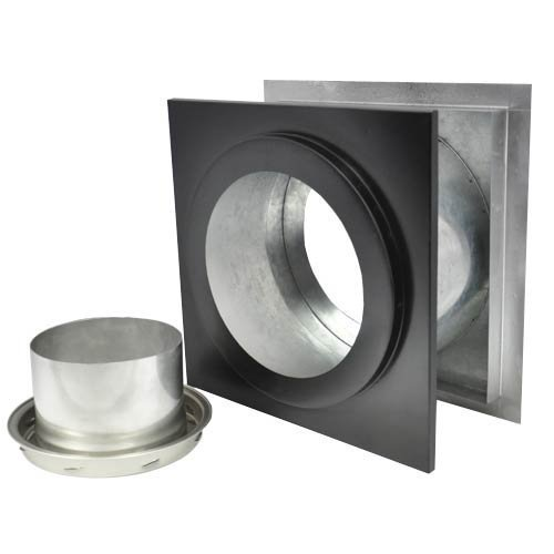 - Shasta Vent Class A, All Fuel Wall Thimble & Finishing Collar for Shasta Vent 6