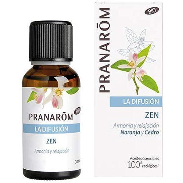 Pranarom - Zen - Armonía y relajación - Naranja y Cedro: Amazon.es ...