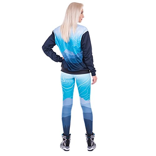 zumprema Femme Islande pour femme, multicolore, Taille unique
