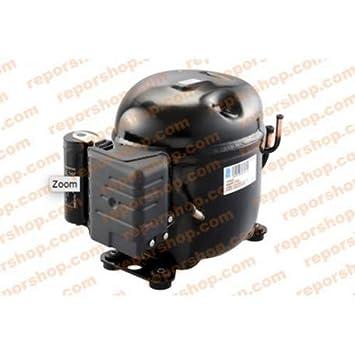 REPORSHOP - COMPRESOR EMBRACO E4460Y R134 Media Temperatura Motor 15,09CC 220/240V: Amazon.es: Hogar