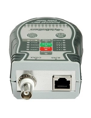 Triplett / Byte Brothers CTX200 Pocket CAT LAN Tester for RJ45 CAT5 CAT6 and Coax Cables by Triplett (Image #1)