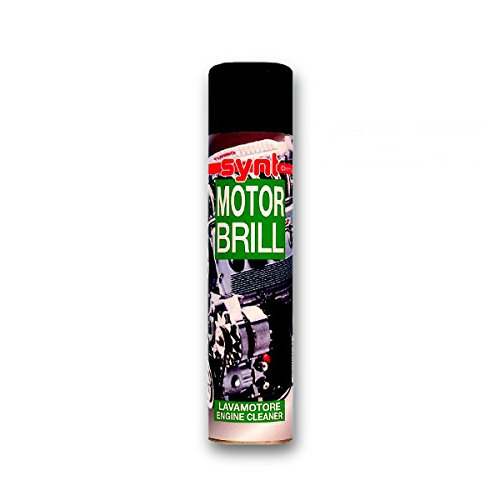 Spray detergente sgrassante MOTORBRILL 400 ml per parti esterne motori Synt Chemical 2 pz.