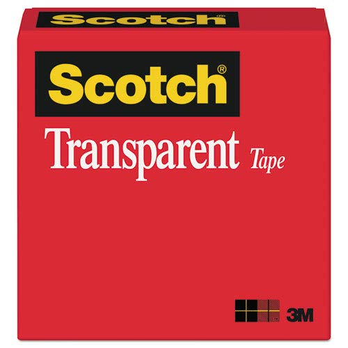 (Scotch Products - Scotch - Transparent Glossy Tape, 1/2