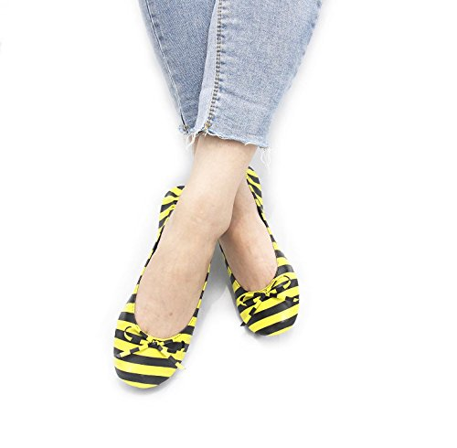 Varie Ballet Pieghevoli Disponibili Happy Fold Colori Ladies Feet E Pumps Up Dimensioni Bee Shoes CnwH8qY