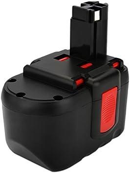 Exmate 24V 3.5Ah para Batería Bosch BAT030 BAT031 BAT240 BAT299 BH-2424 BTP1005 GLI24V GMC24V GSR 24VE-2 GBH24VF GSA24V