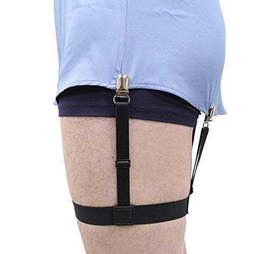 9dea27de99 Jelinda Camisa para hombres Stays con abrazaderas antideslizantes 1 par  (clips metálicos)  Amazon.es  Ropa y accesorios