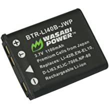 Wasabi Power Battery for Casio NP-80, NP-82