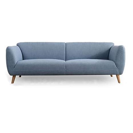 Amazon.com: Hongsheng Sofá moderno de tela Villa Studio ...
