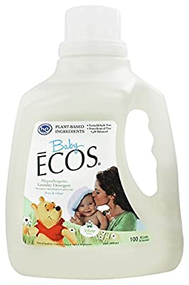 Earth Friendly - Baby Ecos Hypoallergenic Laundry Detergent Free & Clear
