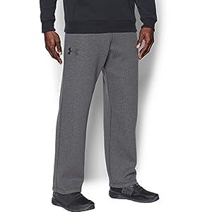 Under Armour Men's Rival Fleece Pants,Carbon Heather/Black, X-Large