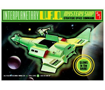Interplanetary Ufo Mysteryship (Kit Model Plastic Ufo)