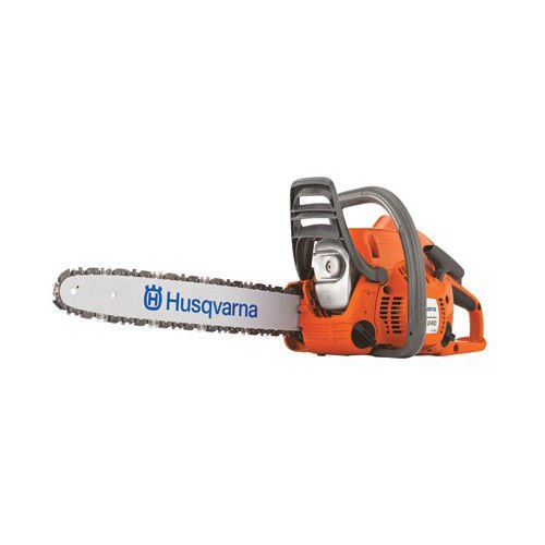 Start Husqvarna Chainsaw (Husqvarna 450 18-Inch 50.2cc X-Torq 2-Cycle Gas Powered Chain Saw With Smart Start)