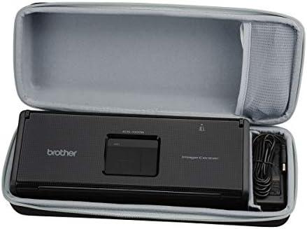 Aproca ハードトラベルストレージケース Brother ADS1000W コンパクトカラー デスクトップスキャナー