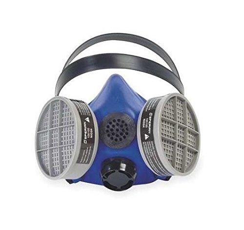 Honeywell B260000 Survivair Medium Blue Silicone SURVIVAIR 2000 Half Mask S-Series Facepiece, Plastic, 1