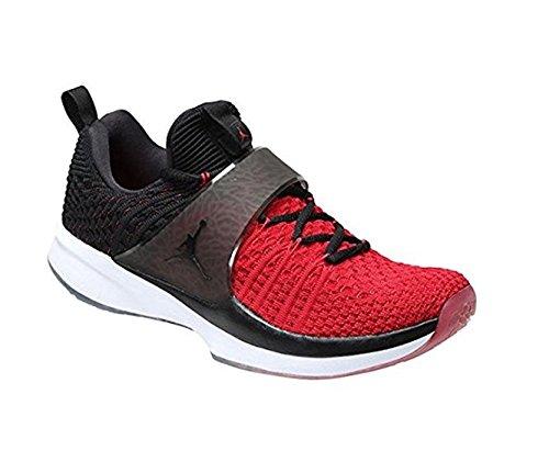 Jordan Nike Men's Trainer 2 Flyknit Gym Red/Black Black Training Shoe 11.5 Men US by NIKE