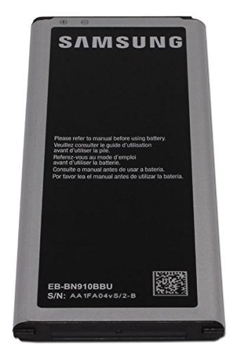Genuine Samsung Galaxy Note 4 OEM 3220mAh Battery EB-BN910BBZ EBBN910BBZ WITH NFC Technology - In Non-Retail Pack by Samsung