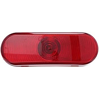 OVAL LAMP MALE PIN TORSION MOUNT III Grote STT LAMP 52562 RED