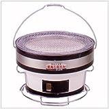 キンカ 焼肉しちりん(七輪)台付B16☆Φ290×H195 保温性・断熱性に優れ、炭火焼肉に最適な珪藻土製コンロ