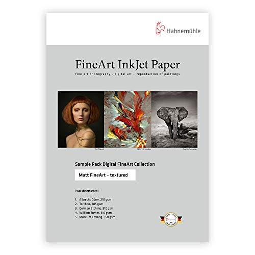 Hahnemuhle Matte FineArt Textured Archival Inkjet Paper Sample Pack (8.5