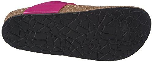 Tamaris 27106 - zuecos de material sintético mujer multicolor - Mehrfarbig (Pink/Black 512)