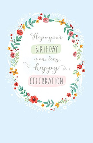 Amazon long celebration birthday greeting card have a long celebration birthday greeting card have a brilliant day m4hsunfo