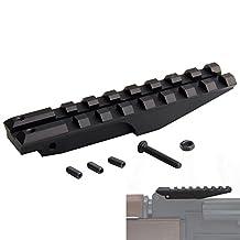 Low Profile Picatinny Scope Mount Rail for AK Series Rifles AK Rear Sight Rail