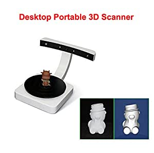 desktop portable 3d scanner ly scan 3d three dimensional laser computers accessories. Black Bedroom Furniture Sets. Home Design Ideas