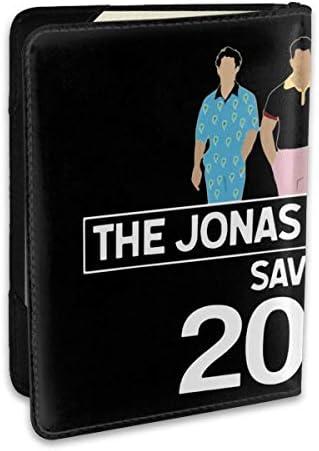 ジョナス・ブラザーズ Jonas Brothers パスポートケース メンズ 男女兼用 パスポートカバー パスポート用カバー パスポートバッグ ポーチ 6.5インチ高級PUレザー 三つのカードケース 家族 国内海外旅行用品 多機能