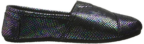 DAWGS Kaymann Women's Exotic Loafer Snake Print in Blue Iridescent