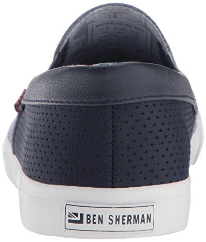 Ben ShermanPete Slip On - Pete Slipper Herren Navy - Blue