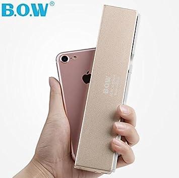 b.o.w Mini plegable Bluetooth inalámbrico teclado para Tablet y ...