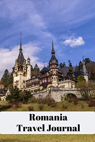 Romania Travel Journal: A5 (6 x 9 Inches) Notebook Journal Diary  . High Quality Hand Writing...