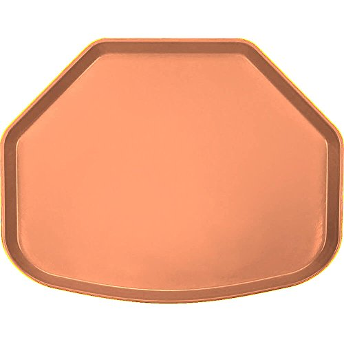Camtray, Trapezoid, 14-9/16'' X 19-1/2'', Orange Pizzazz, Nsf Special Order Item Not Carried In (12 Pieces/Unit)