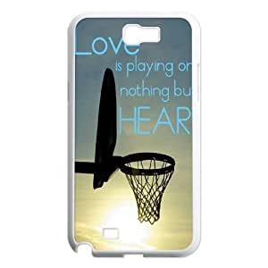 basketball is life Customized Cover Case with Hard Shell Protection for Samsung Galaxy Note 2 N7100 Case lxa#287146
