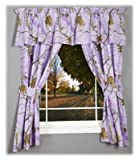 Kimlor Mills Realtree APC Lined Drapes, 63″, Lavender For Sale
