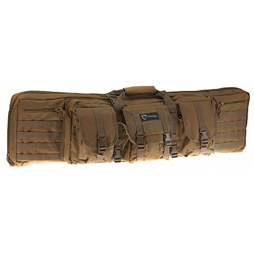 Drago Gear Double Gun Case, Tan, 42-Inch (Case Gear Main)