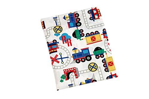 Everything Kids Toddler Bedding Set, Choo Choo 5