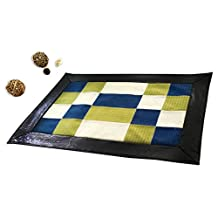[Strips And Grids] Durable Patch Home Rug Non Slip Area Rug