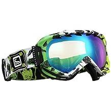 Scott Alibi Sonnet Snow Goggles - Light Amp / Multi Layer Green Chrome