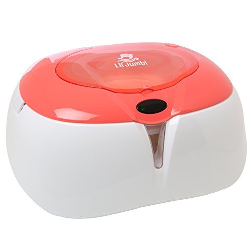 Lil' Jumbl Baby Wipe Warmer, Light Pink