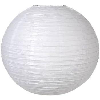 Darice 1174-89 Paper Lantern, 24-Inch, White