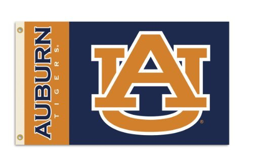 NCAA Auburn Tigers 3-by-5 Foot Flag With Grommets