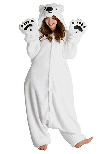 Halloween Polar Bear Kigurumi (Adults, Polar Bear)