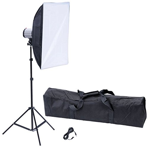"vidaXL Photo Studio Studio Softbox Reflector 20"" x 28"" w/120W Studio Strobe Flash Light from vidaXL"