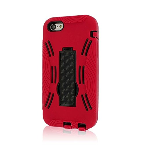 MPERO IMPACT XL Série Béquille Case Étui Coque for Apple iPhone 5C - Red