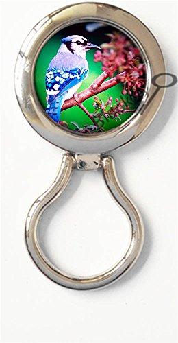BlackKey Animal Bird Magnetic Metal Eyeglass Badge Holder, Eye Glass Holding Brooch -173