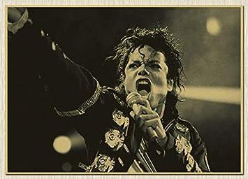 Michael Jackson MJ Singer vintage ROCK película antigua ...