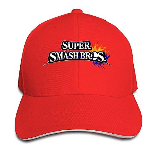 MARC Custom Super Smash Bros. For Wii U Unisex-Adult Travel Cap Hats ()