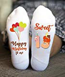Sweet Thirteen Socks Teenager Happy Birthday Girl Gifts